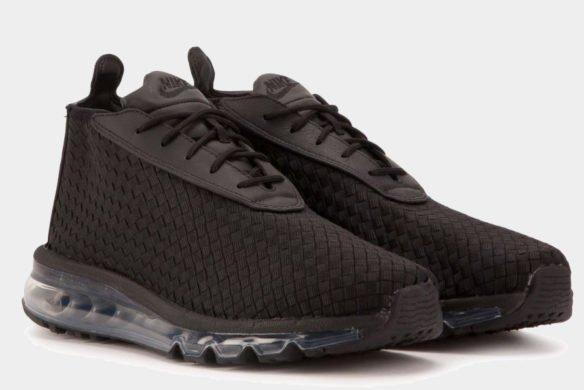 Фото Nike Air Max Woven Boot черные - 1