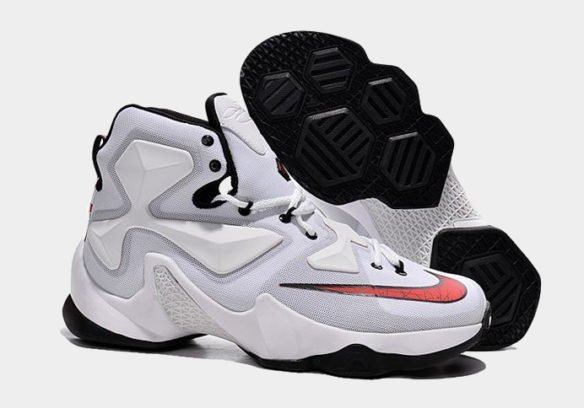 Фото Nike LeBron 13 белые - 1