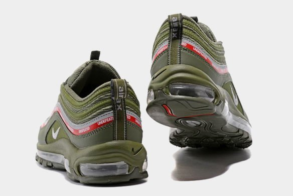 Фото Undefeated x Nike Air Max 97 MoonRock зеленые - 2