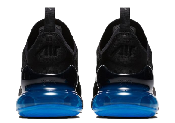 Фото Nike Air Max 270 Черные с Синим - 2